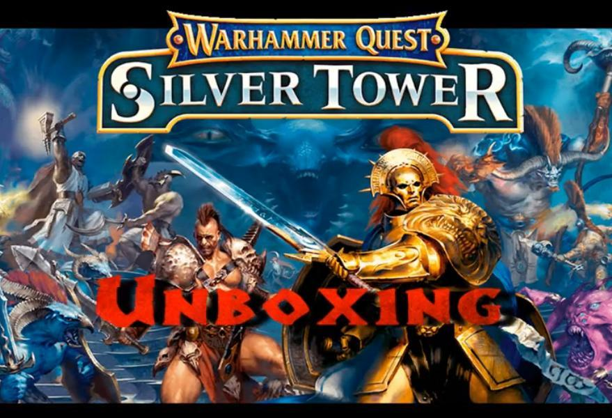 Unboxing juego de mesa warhammer quest silver tower